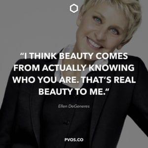 Ellen DeGeneres Positive Quotes about life