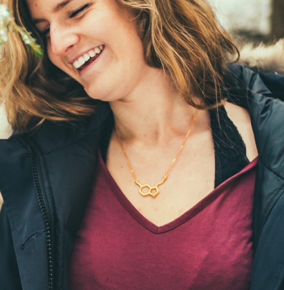 Gold Serotonin Necklace