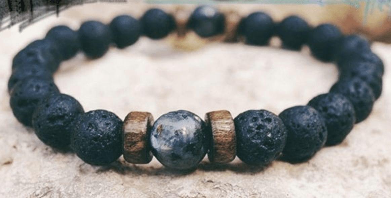 Handmade Tibetan Moonstone Essential Oil Bracelet