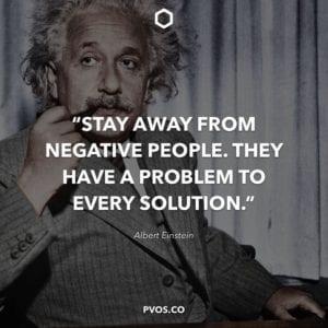 Albert Einstein Positive Quote about Life