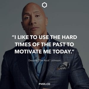 The Rock Positive Quotes about life